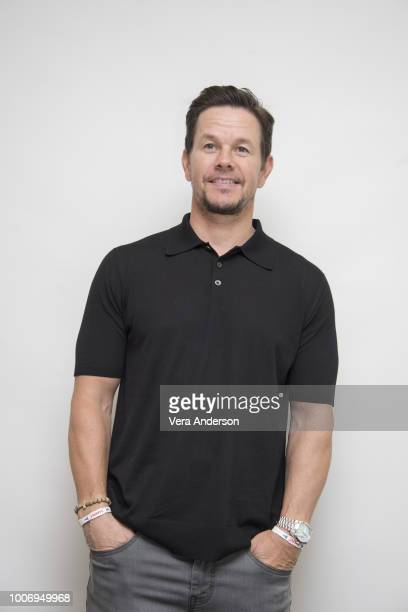 Mark Wahlberg at the Mile 22 Press Conference at the Four Seasons Hotel on July 27 2018 in Beverly Hills California