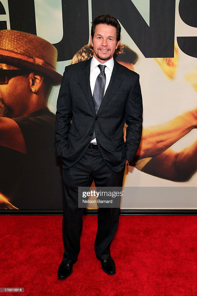 Mark Wahlberg attends '2 Guns' New York Premiere at SVA Theater on July 29, 2013 in New York City.