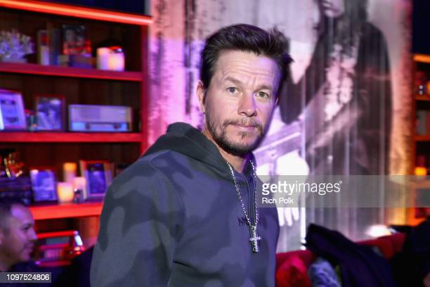 Mark Wahlberg attends Steven Tyler's Second Annual GRAMMY Awards Viewing Party to benefit Janie's Fund presented by Live Nation at Raleigh Studios on...