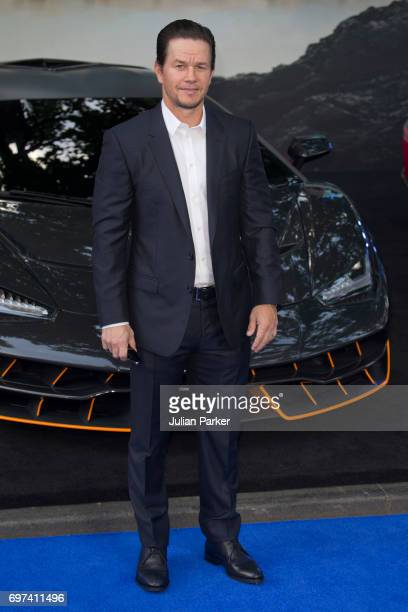 Mark Wahlberg attends the global premiere of 'Transformers The Last Knight' at Cineworld Leicester Square on June 18 2017 in London England