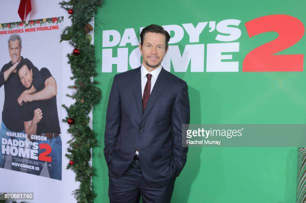 Mark Wahlberg attends the Los Angeles Premiere of 'Daddy's Home 2' at Regency Village Theatre on November 5 2017 in Westwood California