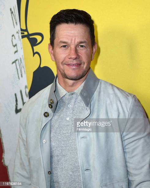 """Mark Wahlberg attends the Los Angeles Premiere Of """"McMillions"""" From HBO on January 30, 2020 in Los Angeles, California."""