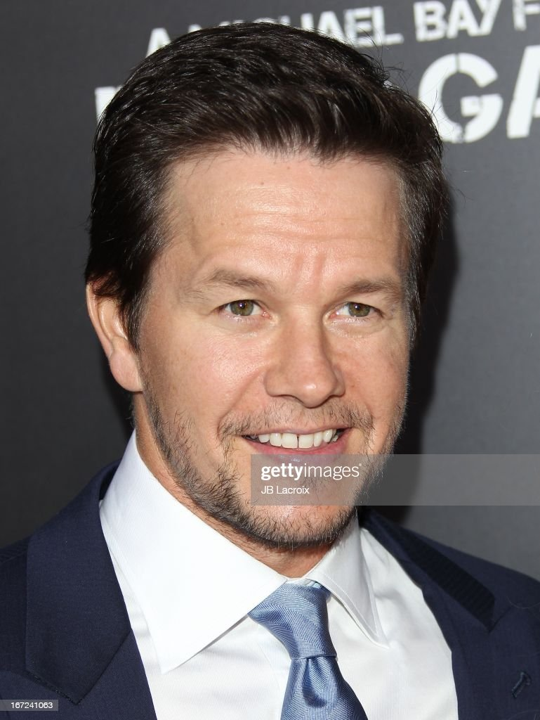 Mark Wahlberg attends the 'Pain & Gain' premiere held at TCL Chinese Theatre on April 22, 2013 in Hollywood, California.