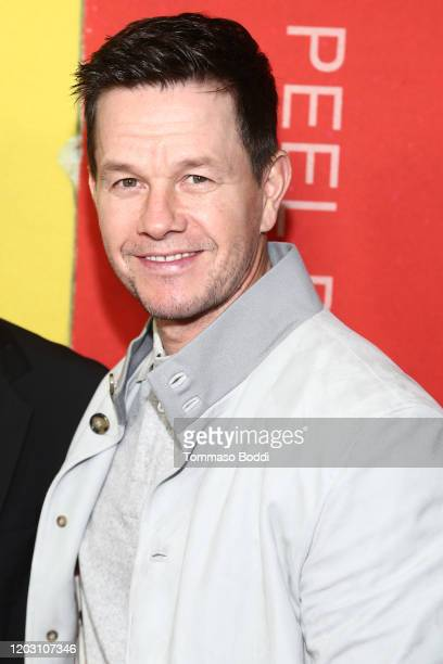 """Mark Wahlberg attends the LA Premiere Of HBO's """"McMillion$"""" at the Landmark Theater on January 30, 2020 in Los Angeles, California."""