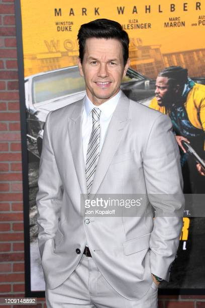 """Mark Wahlberg attends the Premiere of Netflix's """"Spenser Confidential"""" at Regency Village Theatre on February 27, 2020 in Westwood, California."""