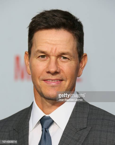 Mark Wahlberg attends the premiere of STX Films' 'Mile 22 at Westwood Village Theatre on August 9 2018 in Westwood California