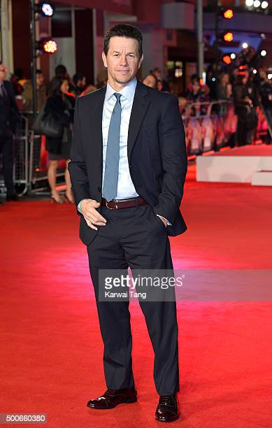 Mark Wahlberg attends the UK Film Premiere of 'Daddy's Home' at Vue West End on December 9 2015 in London England