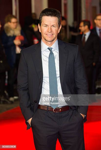 Mark Wahlberg attends the UK Film Premiere of 'Daddy's Home'at Vue West End on December 9 2015 in London England