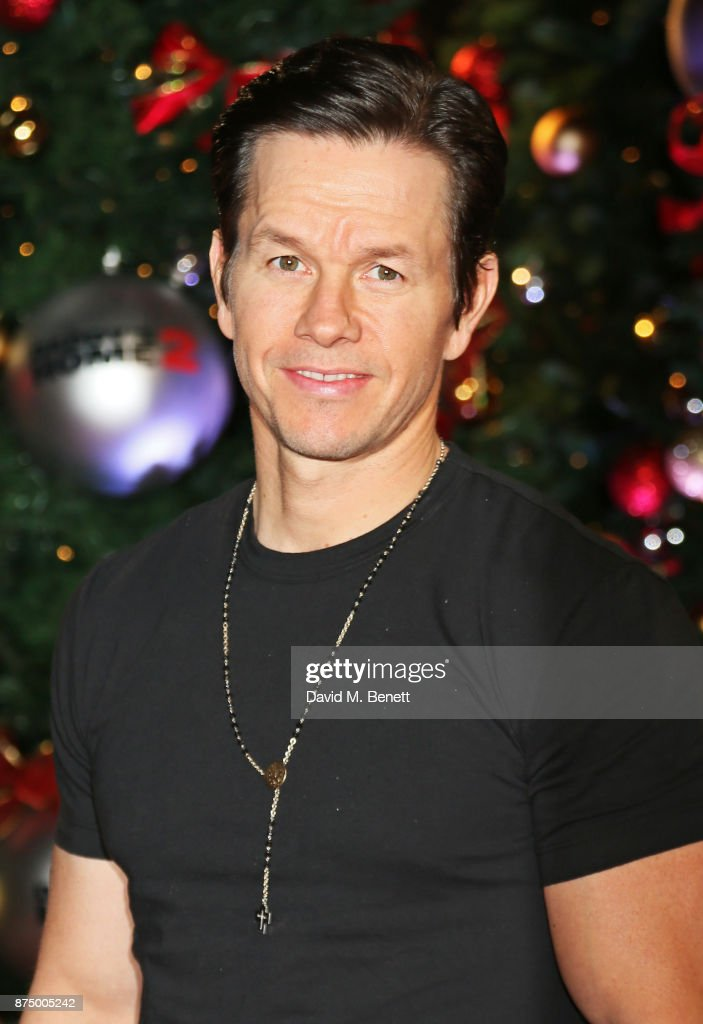 Mark Wahlberg attends the UK Premiere of 'Daddy's Home 2' at the Vue West End on November 16, 2017 in London, England.