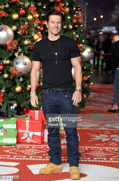 Mark Wahlberg attends the UK Premiere of 'Daddy's Home 2' at Vue West End on November 16 2017 in London England