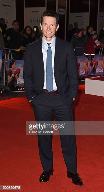 Mark Wahlberg attends the UK premiere of 'Daddy's Home' at Vue West End on December 9 2015 in London England