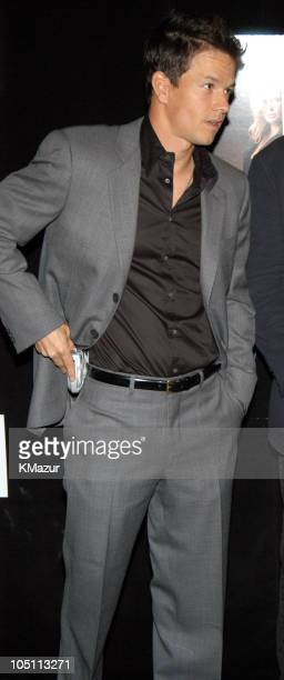 """Mark Wahlberg during 2003 Tribeca Film Festival - """"The Italian Job"""" Premiere at Tribeca Performing Arts Center in New York City, New York, United..."""