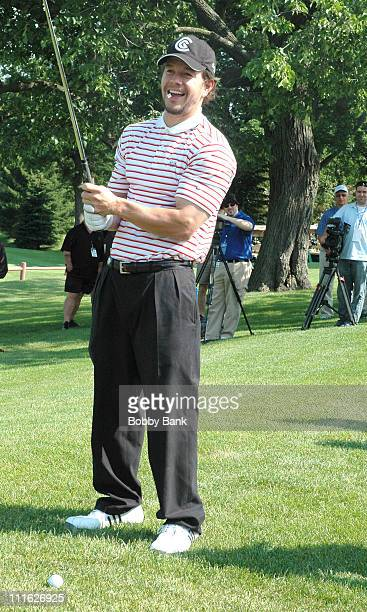Mark Wahlberg during Joe Pesci's 5th Annual Celebrity Skins Game to Benefit the St Barnabas Health Care System at St Barnabas Medical Health in...