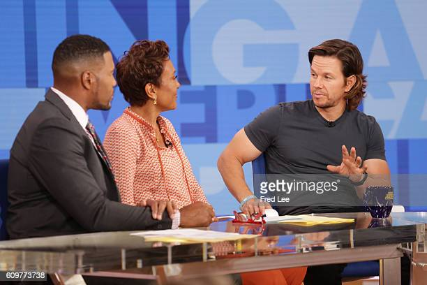 AMERICA Mark Wahlberg is a guest on 'Good Morning America' 9/21/16 airing on the ABC Television Network {Photo by Fred Lee/ABC via Getty Images...