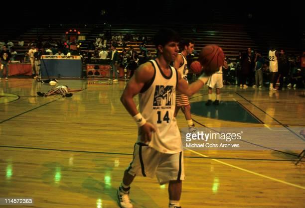 Mark Wahlberg playing basketball circa 1991
