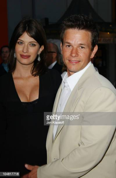 Mark Wahlberg Rhea Durham during The Italian Job Premiere Red Carpet Arrivals at Mann's Chinese Theater in Hollywood California United States