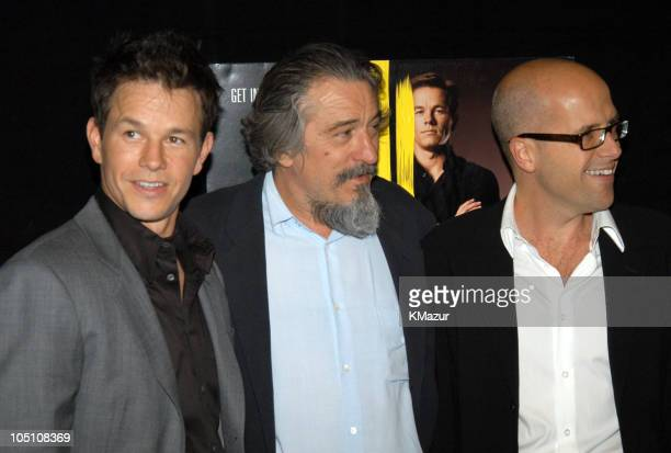 "Mark Wahlberg, Robert De Niro and Donald De Line during 2003 Tribeca Film Festival - ""The Italian Job"" Premiere at Tribeca Performing Arts Center in..."