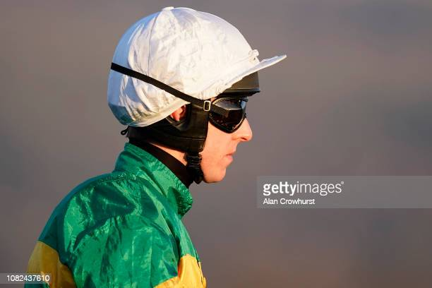 Mark Walsh poses at Cheltenham Racecourse on December 14 2018 in Cheltenham England
