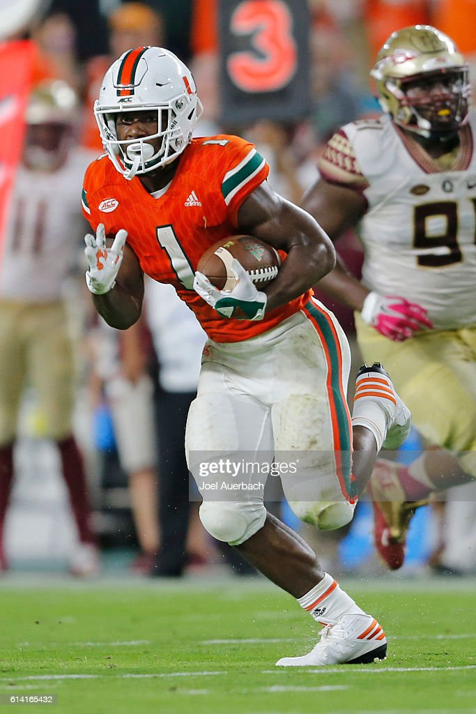 Florida State v Miami : News Photo