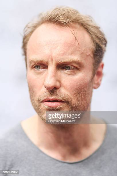 Mark Waschke attends the movie premiere of 'Vor der Morgenroete Bevore Dawn' at Delphi Palace on May 30 2016 in Berlin Germany