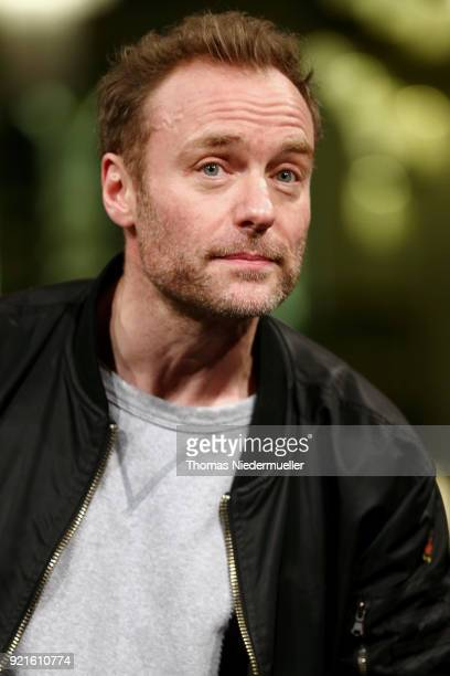 Mark Waschke attends the 'The Silent Revolution' premiere during the 68th Berlinale International Film Festival Berlin at Friedrichstadtpalast on...