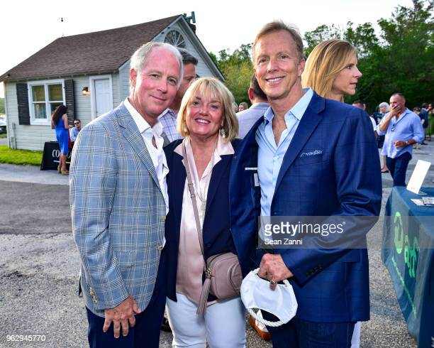 Mark Webb Joani Amadori and Martin Rabbett attend ARF Thrift Shop Designer Show House Sale at ARF Thrift Treasure Shop on May 26 2018 in Sagaponack...