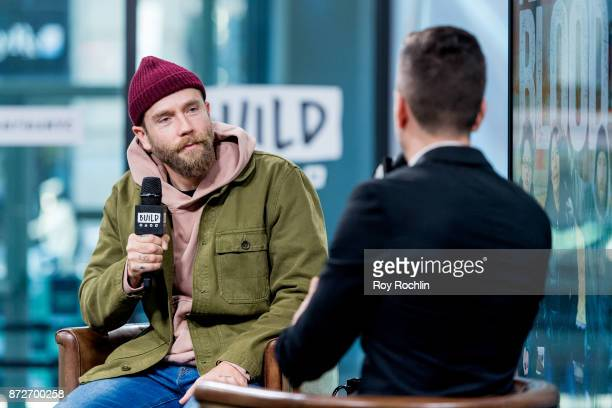 Mark Webber discusses 'Flesh and Blood' with the Build Series at Build Studio on November 10 2017 in New York City
