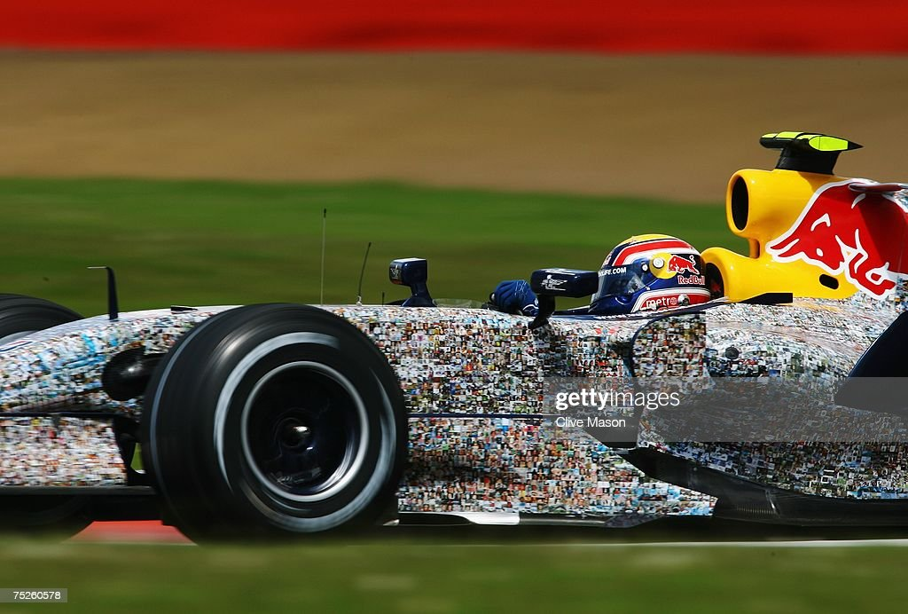 British Formula One Grand Prix: Qualifying : News Photo