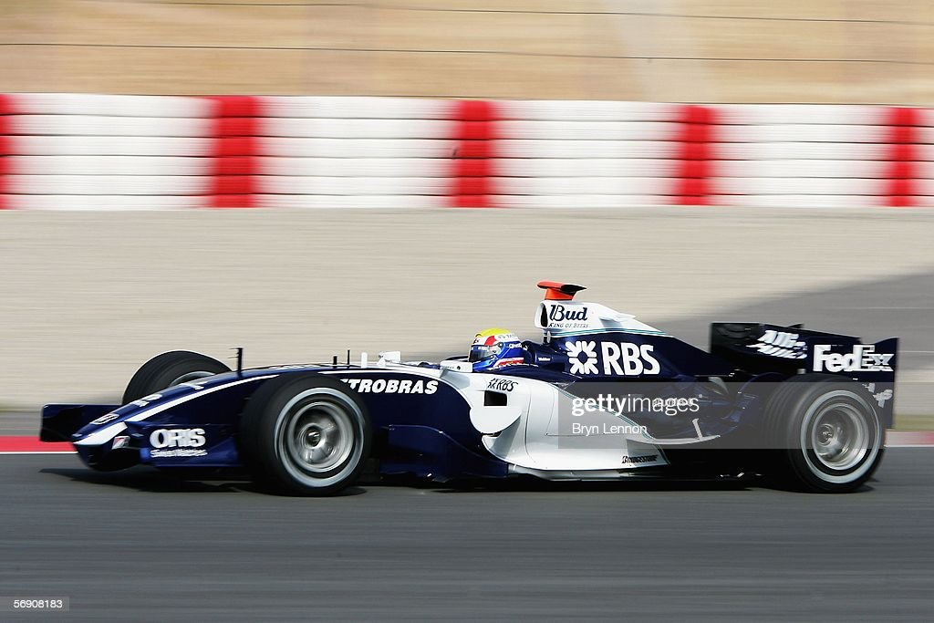 F1 Testing : News Photo