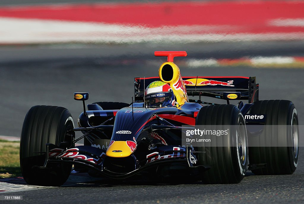 Red Bull F1 Launch : News Photo