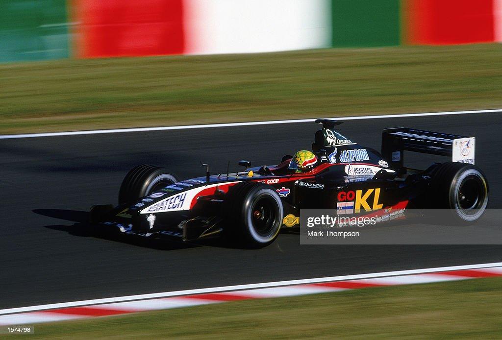 Mark Webber of Minardi : News Photo