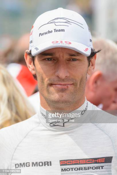 Mark Webber Porsche driver and former F1 racing driver at the start grid during the 6 Hours of SpaFrancorchamps race the second round of the 2015 FIA...