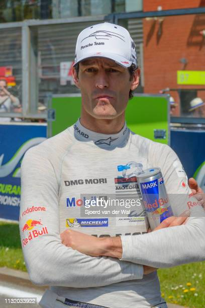 Mark Webber Porsche driver and former F1 racing driver on the start grid of the 2016 6 Hours of SpaFrancorchamps during the 6 Hours of...