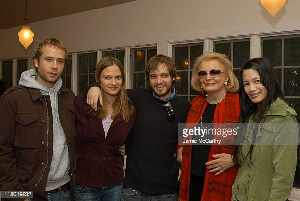 Mark Webber, Vinessa Shaw, Aaron Stanford, Gena Rowlands and Eugenia Yuan