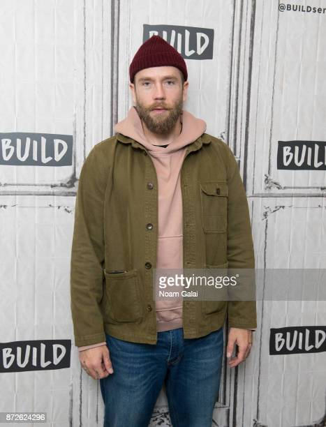 Mark Webber visits Build Series to discuss 'Flesh and Blood' at Build Studio on November 10 2017 in New York City