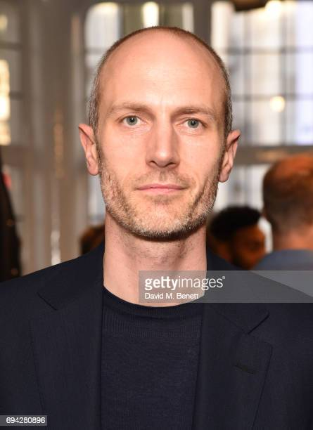 Mark Weston Dunhill Creative Director attends the dunhill London presentation during the London Fashion Week Men's June 2017 collections on June 9...