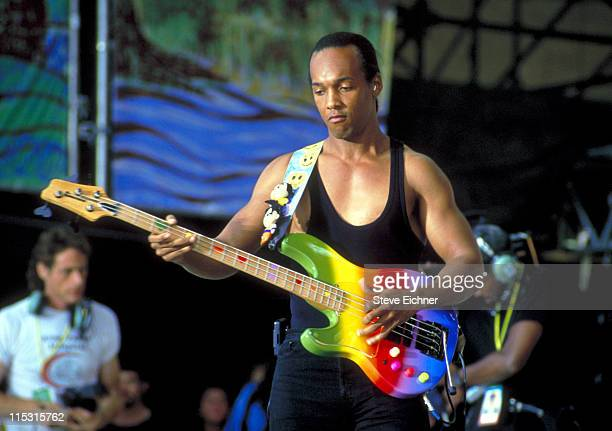 Mark White of Spin Doctors during Woodstock '94 in Saugerties, New York - August 1994 in Saugerties, New York, United States.
