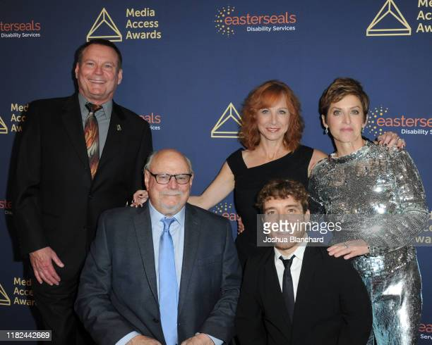Mark Whitley, Allen Rucker, Nancy Weintraub, Nic Novicki and Deborah Calla attend the 40th Annual Media Access Awards In Partnership With Easterseals...