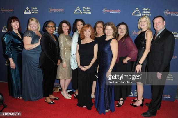 Mark Whitley CEO of Easterseals Southern California and Easterseals Southern California Executives attend the 40th Annual Media Access Awards In...