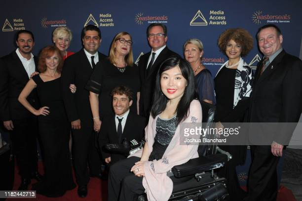 Mark Whitley, CEO of Easterseals Southern California and Easterseals Southern California Board of Directors attend the 40th Annual Media Access...