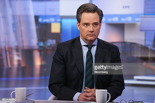 Mark Wiedman global head of BlackRock Inc iShares Exchange Traded Funds unit speaks during a Bloomberg Television interview in New York US on Tuesday...