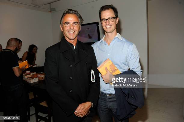 Mark Wilson and Alex Hemmingway attend ESPASSO Presents Sergio Rodrigues at Espasso on September 15 2009 in New York City