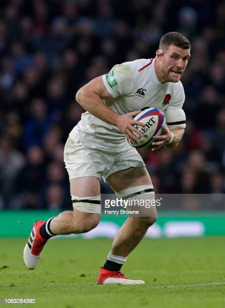 Mark Wilson of England during the Quilter International match between England and South Africa on November 3 2018 in London United Kingdom
