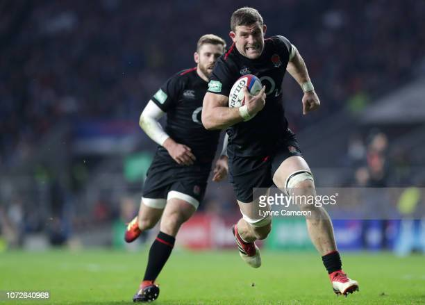 Mark Wilson of England during the Quilter International match between England and Japan on November 17 2018 in London United Kingdom