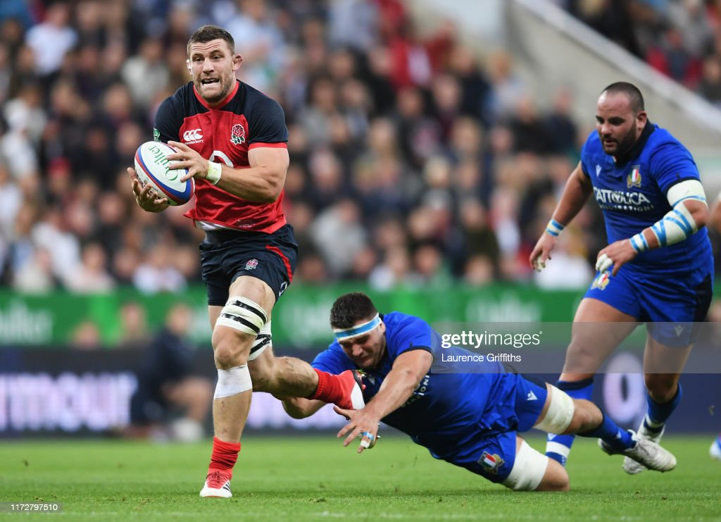England v Italy - 2019 Quilter International : News Photo