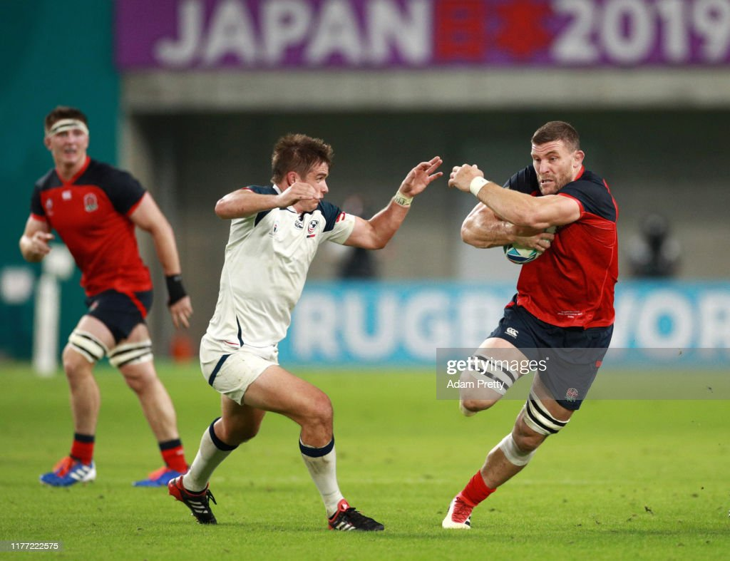 England v USA - Rugby World Cup 2019: Group C : News Photo