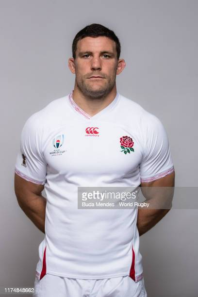 Mark Wilson of England poses for a portrait during the England Rugby World Cup 2019 squad photo call on September 15 2019 in Miyazaki Japan