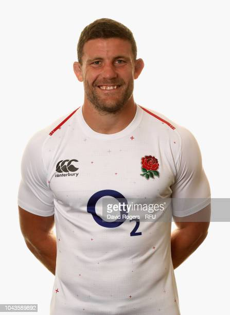 Mark Wilson of England poses for a portrait during the England Squad Photocall at The Lensbury on August 5 2018 in Teddington England