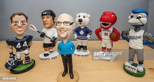 Mark Wlodarski has a collection of 400 bobbleheads Story is about his bobblehead collection and how teams are using the figurines to get more people...