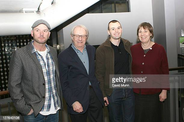 Mark Womack Ken Loach Craig Lundberg and Rebecca O'Brien attend the premiere of 'Route Irish' at FACT on March 7 2011 in Liverpool England